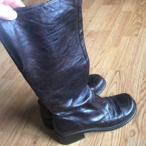 Under knee length boots